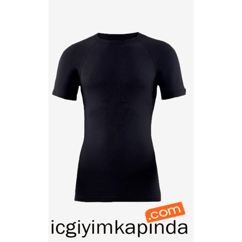 9258 Blackspade Erkek Termal T-Shirt Siyah