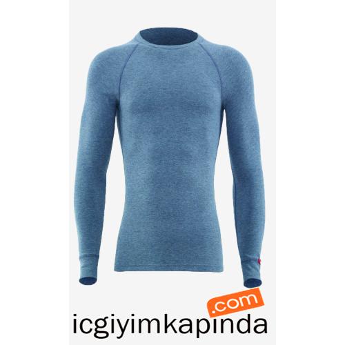 9259 Blackspade Kadın Termal T-Shirt G.Melanj